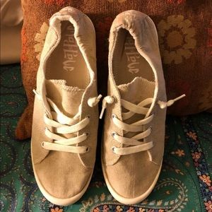Mad Love Canvas Slip-Ons